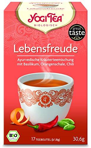 Yogi Lebensfreude Tee BIO 6 Packungen à 17 Teebeutel