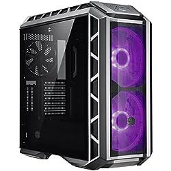 Cooler Master MasterCase H500P Mesh – Case PC RGB con Due Ventole da 200 mm Ottimo Flusso d'Aria, Pannelli Fatti per Costruttori, Predisposto per Dissipazione a Liquido