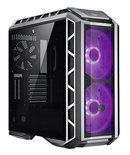 Cooler Master MasterCase H500P Metallic Mesh Midi-Tower PC-behuizing (midi-toren, PC, kunststof, staal, gehard glas, eATX, Micro-ATX, Mini-ITX, metallic, Spel)
