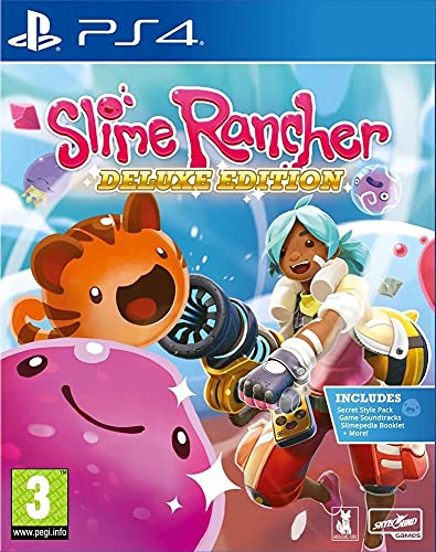 Justforgames Slime Rancher Deluxe Edition - PS4