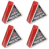 Dime Bag Hardware Triple Slick Skateboard Curb Wax, Cherry (Pack of 4) -