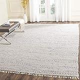 Safavieh Rag Rug Collection RAR121G Handmade Boho Stripe Cotton Area Rug, 6' x 9', Ivory / Multi