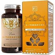 FS L-Theanin 300mg Vegane Kapseln Ohne Füllstoffe und Bindemittel | 90 L Theanine Nootropikium Tabletten Für Konzentration | Allergen Frei | Nicht GVO | Hergestellt in ISO-Zertifizierten Betrieben