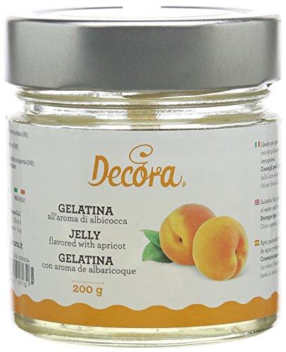 DECORA 0300204 GELATINA AROMA ALBICOCCHE 200 G