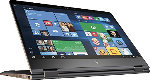 HP Spectre x360 15-BL012DX 2-in-1 15.6in 4K UHD TouchScreen Laptop - Intel Core i7 - Nvidia GeForce 940MX, 16GB Memory, 512GB Solid State Drive (Renewed)