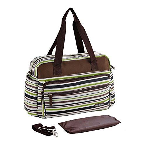 Yimidear multifunzionale borsa zaino per cambio neonato, tracolla, fasciatorio e trasporto a mano, ampie tasche