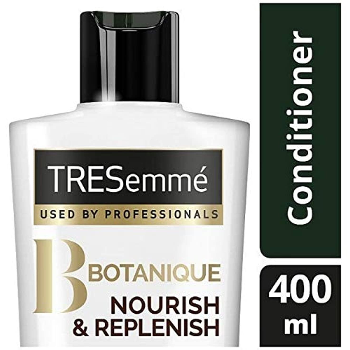 面倒ブラスト今後[Tresemme] Tresemmeのボタニックを養う&コンディショナー400ミリリットルを補充します - TRESemme Botanique Nourish & Replenish Conditioner 400ml [並行輸入品]