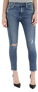 Citizens of Humanity Rocket High Rise Skinny Crop Jeans - Women's Designer Denim - in Reminisce Wash - Made in The USA