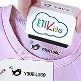Sello personalizado para niños. Sello marcador de ropa y libros. (Sello con logo)