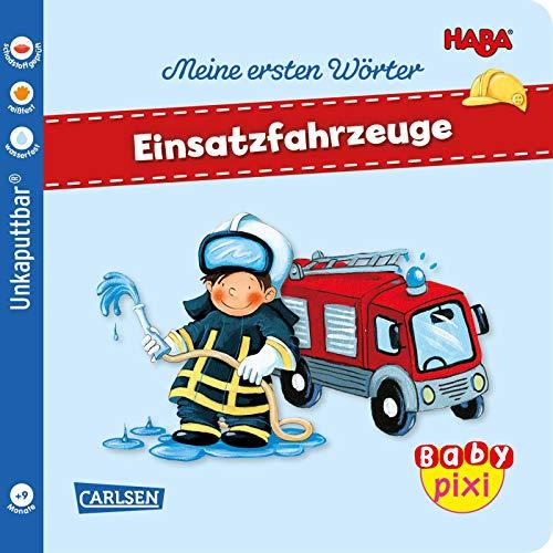 Baby Pixi (unkaputtbar) 95: HABA Erste Wörter: Einsatzfahrzeuge (95)