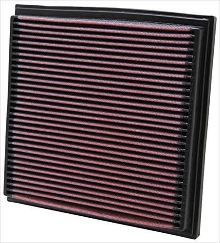 K&N 33-2733 Filtro de Aire Coche, Lavable y Reutilizable