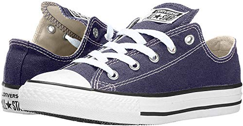 CONVERSE Chuck Taylor All Star Seasonal Ox, Unisex-Erwachsene Sneakers, Blau (Navy), 39.5 EU