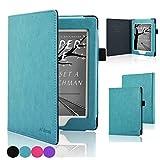ACdream Nook GlowLight Plus 6inch Case[CAN NOT FIT Nook GLOWLIGHT 3 or 2019 New Nook Glowlight Plus 7.8 inch], Folio Premium PU Leather Cover Case for Barnes & Noble Nook GlowLight Plus, Sky Blue