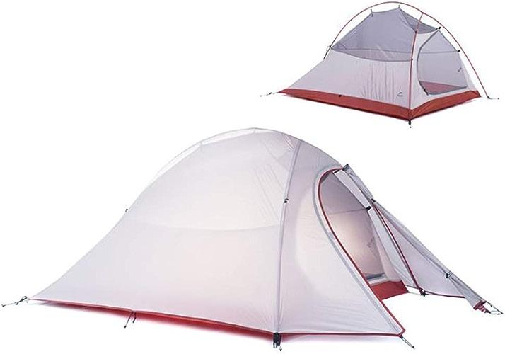 ZMJY La Tente de Camping, la Prougeection Solaire imperméable de Double Tente extérieure de Camping légère n'est Pas stuffy et Commode pour Porter
