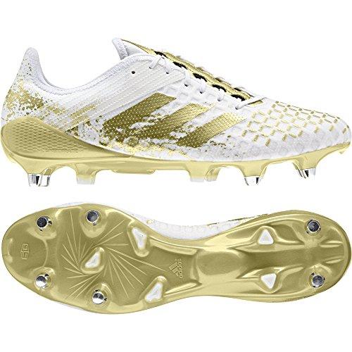 adidas Herren Predator Malice Control Sg Rugby-Schuhe, weiß (Ftwbla/Dormet/Ftwbla), 39 1/3 EU