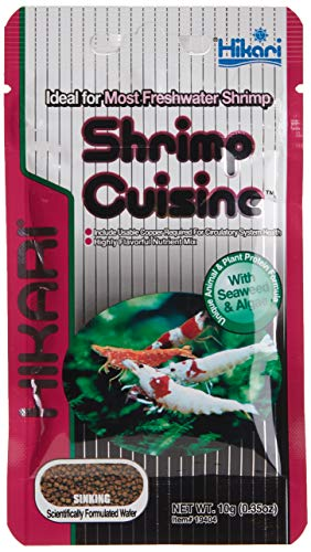 Hikari Tropical Shrimp Cuisine Fish Food, 0.35 oz (10g)