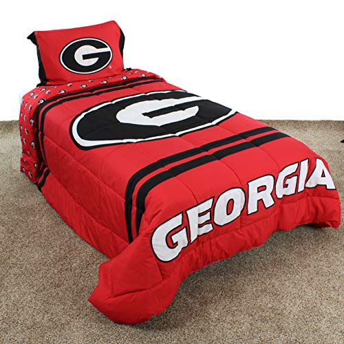 georgia bulldogs baby crib set - 8