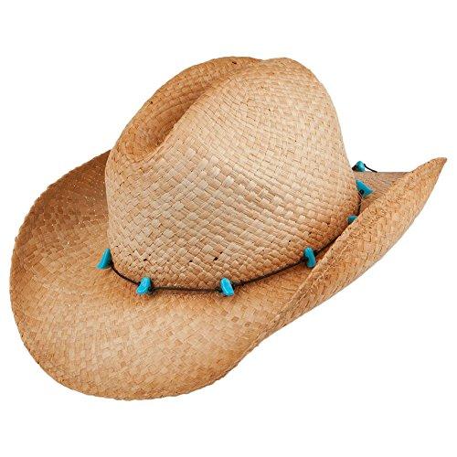 Chapeau de Cowboy Calamity Cattleman sur LA Tete - Taille Unique