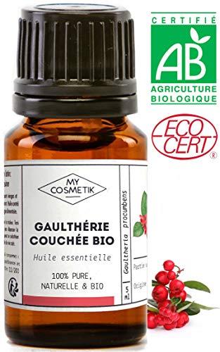 Huile essentielle de Gaulthérie Couchée BIO - MyCosmetik - 10 ml