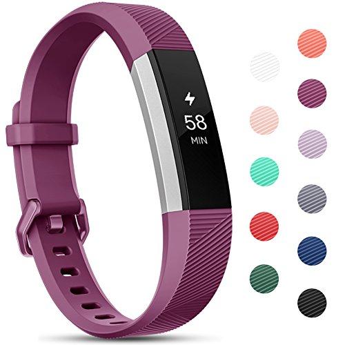 Onedream Compatible para Fitbit Alta HR Correa/Alta Strap/Ace Pulsera Mujer Hombre Recambio Silicona Correa Fucsia