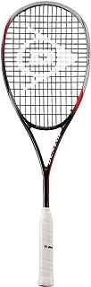 DUNLOP Biomimetic Pro GTS 140 HL Squash Racquet - Black/Red/Silver