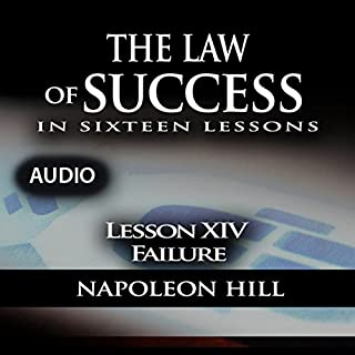 The Law of Success, Lesson XIV: Failure audiobook cover art