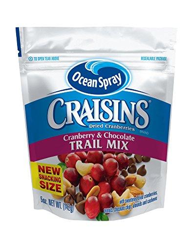 Ocean Spray Craisins Ocean Spray Trail Mix, Cranberry & Chocolate, 5 Ounce