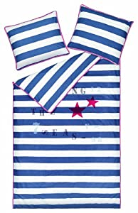 Room Seven Seven Seas Bettbezug / 135*200 cm + 80*80 cm / Blau