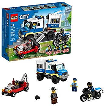 LEGO City Police Prisoner Transport 60276 Building Kit  Cool Police Toy for Kids New 2021  244 Pieces