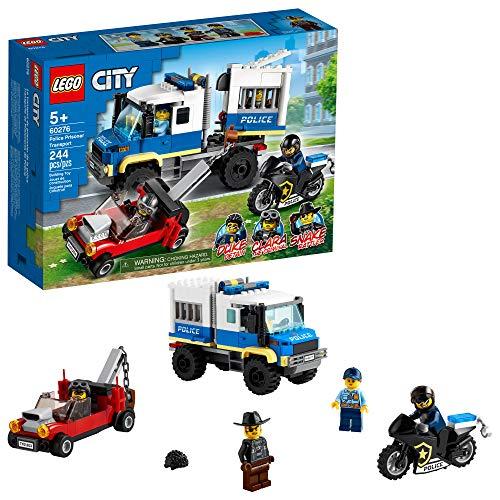 60276 LEGO® City Transporte de Prisioneiros da Polícia; Kit de Construção (244 peças)