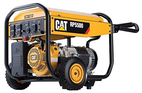 Cat RP5500 5500 Running Watts and 6875 Starting Watts Gas powered Portable Generator 490-6489