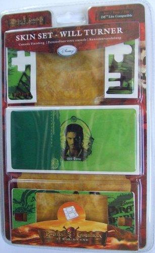 Skin Set Pirates de Caraibes pour DS Lite - Will Turner