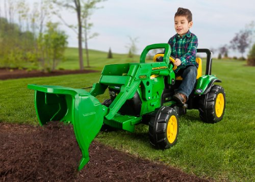 Peg Perego John Deere Front Loader, with Pedal