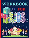 Workbook for Kids: Numbers, Letters,Connect the dots and Coloring For Toddlers
