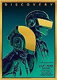 Plakat-Die Daft Punk Rock Band