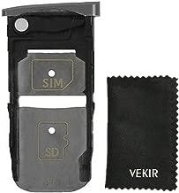 VEKIR Sim Card Tray for Motorola Moto Z Force Droid Edition XT1650(Black)