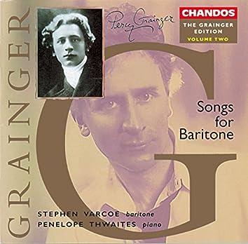 Grainger Edition, Vol. 2: Songs for Baritone