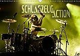 Schlagzeug Action (Wandkalender 2021 DIN A3 quer)