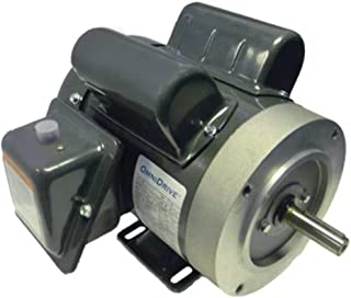 Ball Bearing 1 Speed Rigid Base 1625 rpm Permanent Split Capacitor 1 Phase 115//200-230 VAC Marathon PG240 48Z Frame Totally Enclosed Marathon-Transformer Cooling Fan Motor 1//20 hp