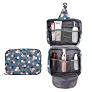Portable Hanging Toiletry Bag-Travel Organizer Cosmetic Case for Women&Waterproof