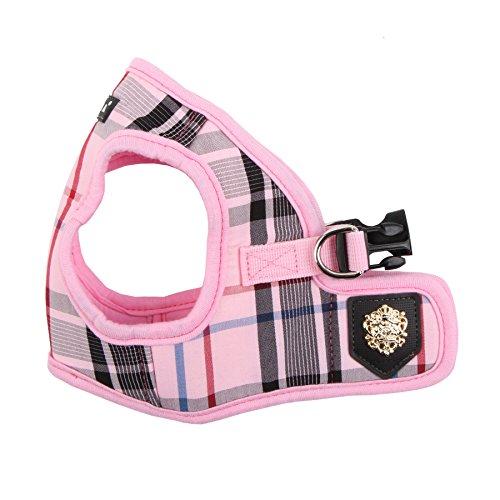 Puppia Authentic Junior Harness B, X-Large, Pink (PAMA-AH978-PK-XL)