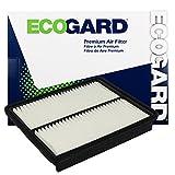 ECOGARD XA6124 Premium Engine Air Filter Fits Hyundai Sonata 2.4L 2011-2014, Santa Fe 2.4L 2010-2012, Sonata 2.0L 2011-2014, Santa Fe 3.5L 2010-2012, Azera 3.3L 2012-2017