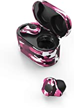 QWEDSA True Wireless Earbuds Bluetooth / 5.0 TWS Sports in-Ear Mini Earbuds/Waterproof Smart Noise Reduction Stereo/Standby Time 40H / with Charging Bin/Gift-Purple