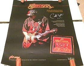 Santana Ghs Strings Promo Poster 16 X 12