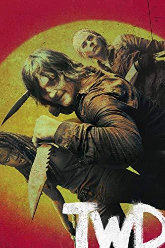 Puzzle 1000 Piezas Rompecabezas 3D De para Niños Y Adultos Juego De Rompecabezas , The Walking Dead TV Show Posters