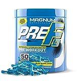 Magnum Nutraceuticals PRE FO Workout Powder (50 Servings) Blue Shark