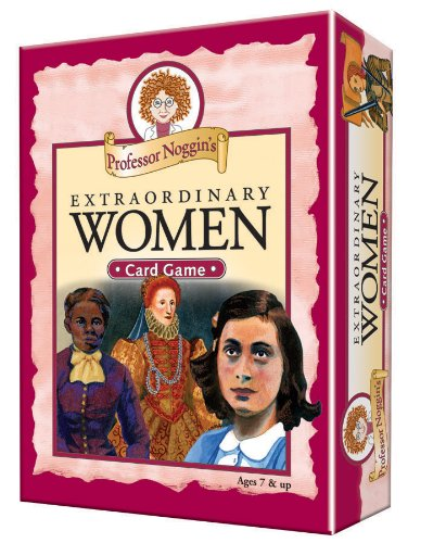 Educational Trivia Card Game - Professor Noggin's Extraordinary Women