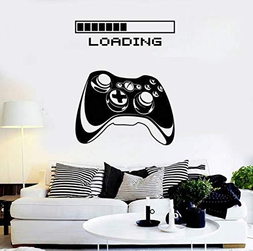 Zybnb Sala De Juegos Manija Etiqueta Gamer Decal Gaming Posters ...
