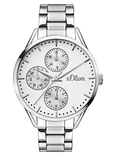 s.Oliver Time Damen-Armbanduhr SO-3348-MM