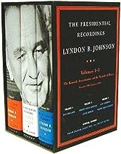The Presidential Recordings: Lyndon B. Johnson: The Kennedy Assassination and the Transfer of Power: November 1963-January 1964 (Three-Volume Slipcased Set) (Vol. 1-3) (The Presidential Recordings)